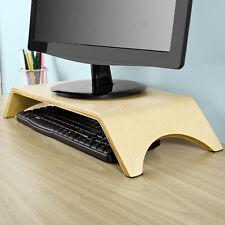SoBuy®Universal Desktop Monitor Altura Soporte de madera de sostenedor,FRG98-N,E