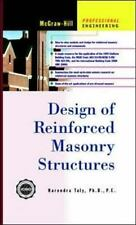 Design of Reinforced Masonry Structures by Narendra Taly Hardcover Book