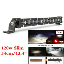 1 Piece LED Work Light Bar 120W 12000LM Lamp For Off Road SUV Flood Driving Lamp