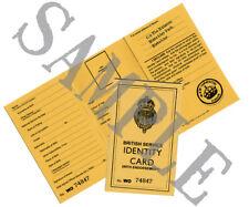 Ww2 Bletchley Park Identity Card