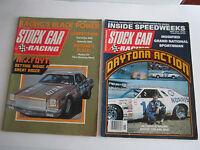 (2) 1970'S STOCK CAR RACING MAGAZINES - A.J. FOYT & BOBBY ALLISON - BOX BPR-2