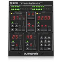 TC Electronic TC2290-DT Dynamic Delay PlugIn Controller Desktop Interface Mac PC
