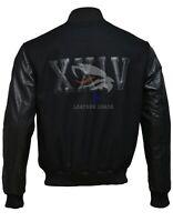 Michael B Jordan KOBE Destroyer XXIV Battle Leather Sleeves Jacket XS S M L XL