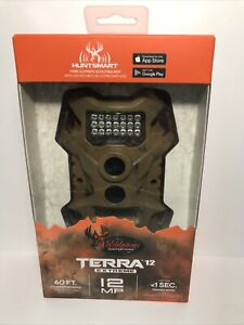 New/Sealed  Wildgame Terra Extreme 12MP HD Hunting Game Trail Video Camera CAMO