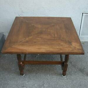 Rustic End Table Small Coffee Table