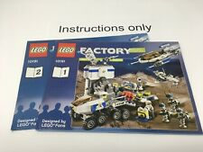 ONLY instructions Lego 10191 Star Justice Factory Space; no bricks/parts, no box