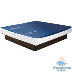 2x Wasserbett Wassermatratze Erneuerung 180x220 cm 90% F6 Liner Schutzfolie