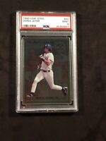 1996 Leaf Steel Derek Jeter PSA 9, #40 New York Yankees Hall Of Fame
