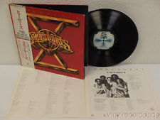 """THE COMMODORES Heroes """"X"""" 1970 Japan Audiophile w/OBI LP Motown VIP-6722"""