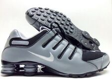 NIKE SHOX NZ ID ANTHRACITE/BLACK-COOL GREY-WHITE SIZE MEN'S 13 WIDE [616118-981]