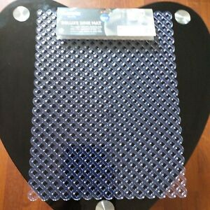 Deluxe Clear Kitchen Sink Scratch Protector Sink Mat Anti Slip Drainer Clear mat