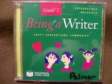Being a Writer Gr. 2 Craft Conventions Community Reproducible Material (CD-ROM)
