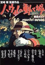 HOWL'S MOVING CASTLE STUDIO GHIBLI JAPAN GUIDE BOOK 2004 MIYAZAKI ANIME Z