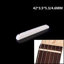 Guitar Slotted Bone Nut for Fender Stratocaster Telecaster Electric Guitars