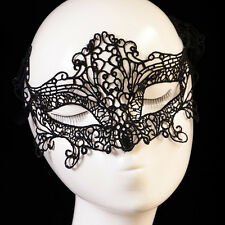 Women Lady Lace Hollow Eye Face Mask Masquerade Ball Fancy Costume Dress
