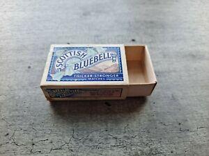 Vintage Scottish Bluebell Match Box