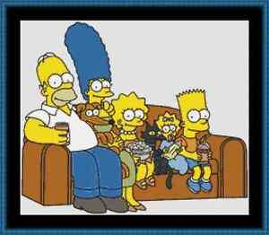The Simpsons Cross Stitch Kit