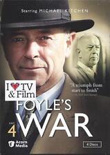 Foyle's War British Mystery TV Series Set 4 NEW 4 DVDs Widescreen World War II