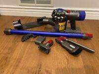 Dyson V8 Total Clean+ Plus 🔥 Cordless Stick Vacuum SV10 Blue with + accessories