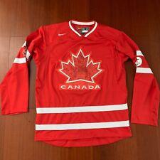 Rare Nike Team Canada 2010 Vancouver Olympics Hockey NHL Jersey Mens Sz S Marleu
