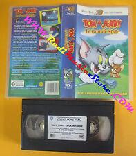 VHS film TOM & JERRY Le grandi sfide 2000 WARNER PIV 65305 (F142) no dvd