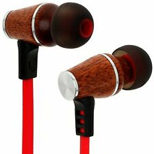 Symphonized XTC Wireless Earbuds, Bluetooth Stereo in Ear Headphones - Red