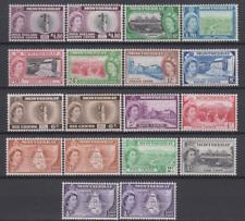 Montserrat 1953 Mint Mounted to $4 80