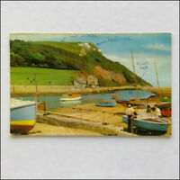 The River Axe Seaton 1984 Postcard (P358)