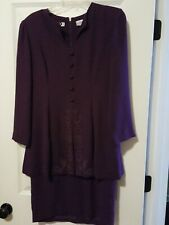 Vintage Womens   Chaus Shoulder Pad Dress Size 6