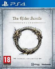 The Elder Scrolls Online - Tamriel Unlimited PS4 NUOVO UK