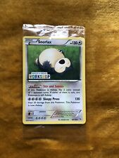 Pokemon Cards Snorlax PROMO Build-A-Bear Workshop Stamped. Rare NEW & SEALED