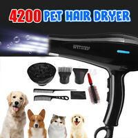 220V 4200W Portable Dog Cat Pet Groomming Blow Hair Dyer Professional Hairdryer