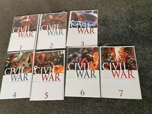 Civil War 1-7 and Front line 1-11 Comic Series