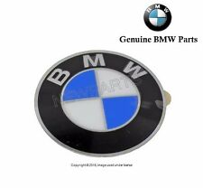 BMW E46 Emblem Wheel Center Cap 64.5 mm Diameter OEM 36136767550
