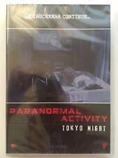DVD neuf °°PARANORMAL ACTIVITY - TOKYO NIGHT°° Film d'horreur japonais