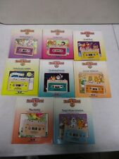 8 1985 Teddy Ruxpin Tapes with Books