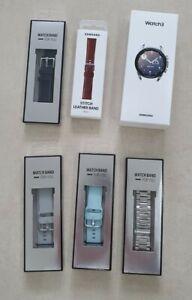 ++ Neu & OVP++ Samsung Galaxy Watch 3 SM-R855 Mystic Silver 41mm LTE Smartwatch