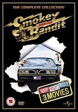 Smokey And The Bandit Trilogy Burt Reynolds, Jackie Gleason, Sally NEW UK R2 DVD