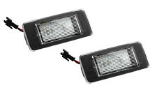 2x TOP SMD LED Kennzeichenbeleuchtung Cadillac ATS Coupe ab Bj. 2015 / 906