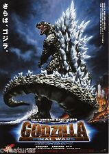 GODZILLA FINAL WARS 2004 Original CHIRASHI Japanese MINI POSTER Mothra Rodan!