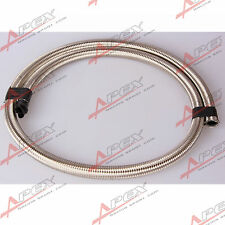 Stainless Steel Double Braided 1500 PSI 6AN AN6 AN-6 Oil Fuel Gas Line Hose