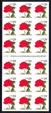 US ETATS UNIS 1993 YV N°C 2186** ROSE FLEUR CARNET AUTOADHESIF BOOKLET SC 2490