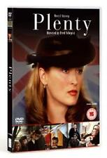Plenty (DVD, 2006) MERYL STREEP - NEW - FACTORY SEALED - FREE UK P&P