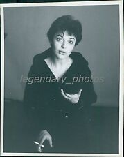 1962 Anne Bancroft in Two for the Seasaw Original New Service Photo