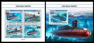 Togo 2021 Submarines.  (227)