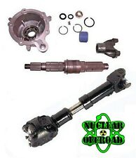 SYE KIT & 1310 CV DRIVESHAFT PACKAGE  JEEP TJ or LJ UNLIMITED ADAMS DRIVESHAFT