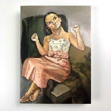 More details for paula rego. dog woman 1994 marlborough fine art (london) ltd folding card