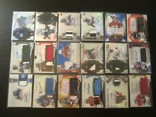 (18) 2012/2013/2014/2015 Topps Finest AUTO JERSEY PATCH  RC LOT Blue Red Gold