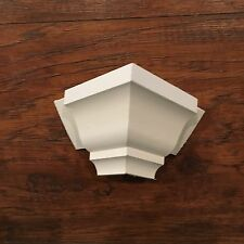 "Crown Moulding Corners, Outside Transitions For 3 5/8"" Crown (5pack Pine)!"