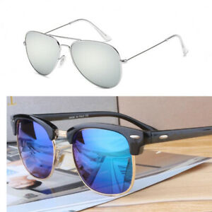 2021 New Sun Glasses Retro Mirror Vintage Style Shades Casual Goggles Sunglasses